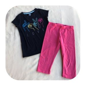 6/$15 7/8 (M) Wonder Nation outfit